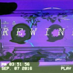 vhs vhstapes vhstape rewind glitch