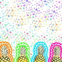 freetoedit remix pineapple ilustartions indonesia