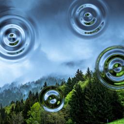 FreeToEdit water ripples