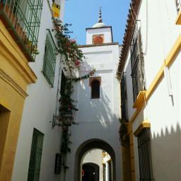 andalucia spain cordoba islamic architecture street tower