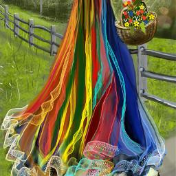 dcflowersaround wdpprimarycolors digitaldrawing madewithpicsart colorful flowers wdpdreamingofspring