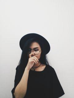 black thinking freetoedit girly bequite