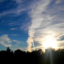 sky clouds nature
