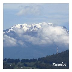 volcan iztacihuayl bluesky clouds landscape