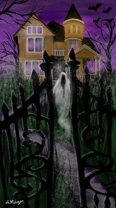 wdphauntedhouse colorsplash foggy mist ghosts