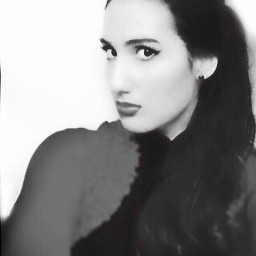 me blackandwhite portrait freetoedit
