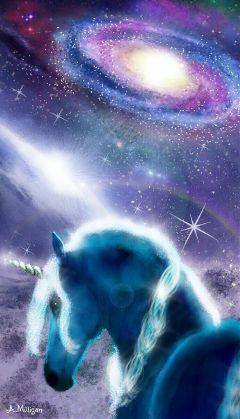 wdpgalaxy color colorful galaxy unicorn