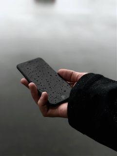 freetoedit object black minimal phone