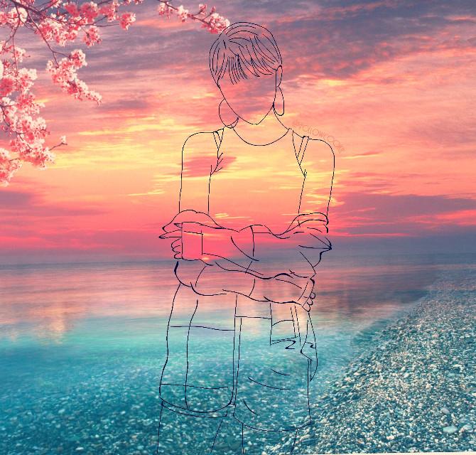 Follow for cookie 🍪 #followcookie #mystyle #sun #sunset #sky #sea #draw #girl #asiangirl #Japanese #japanesegirl