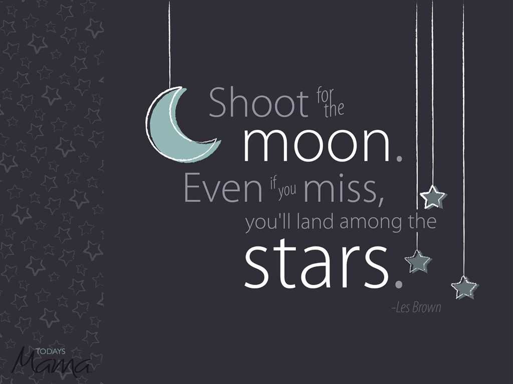 cute inspirational quotes stars moon FreeToEdit...