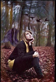 freetoedit womanportrait nature photography forest